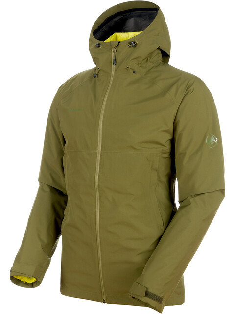 Mammut M's Convey 3in1 HS Hooded Jacket clover-canary